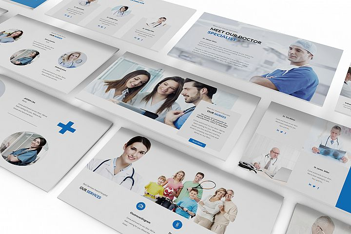Medical and Health Care Keynote Template