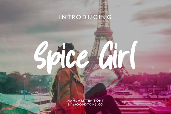 Spice Girl Handwritten Font