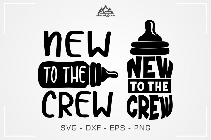 New To The Crew Svg Design