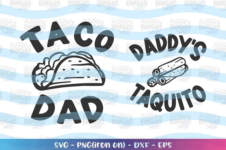 Cinco de mayo tacos-Taco Dad svg