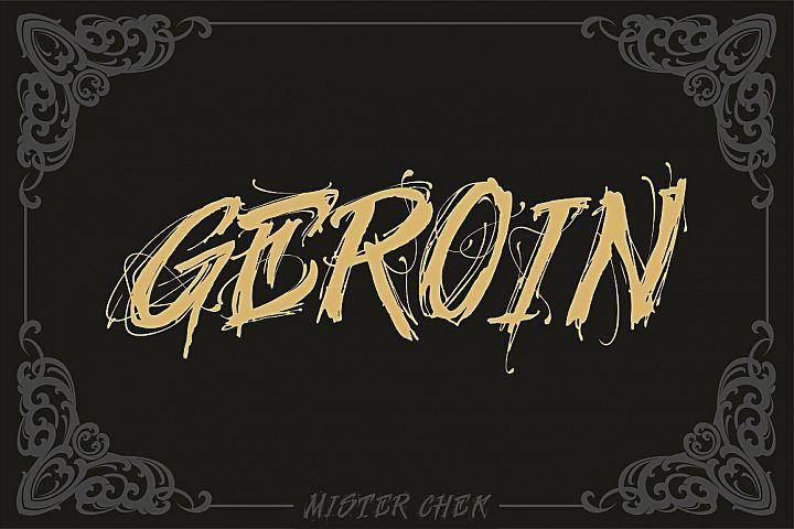 Geroin