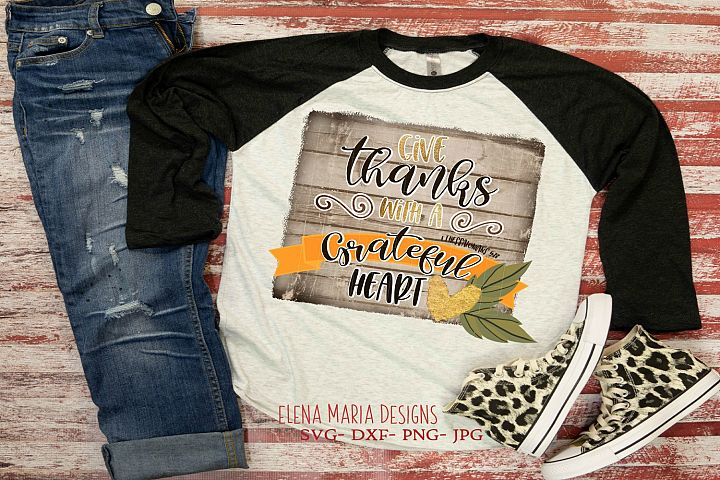 Thanksgiving Printable Sublimation Or Print & Cut Design