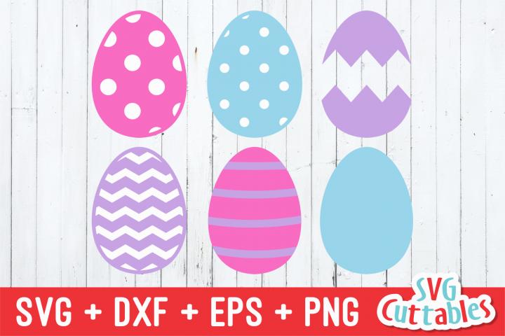 Easter Eggs | Easter svg Cut File