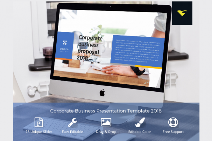 Corporate Business Proposal Presentation Template