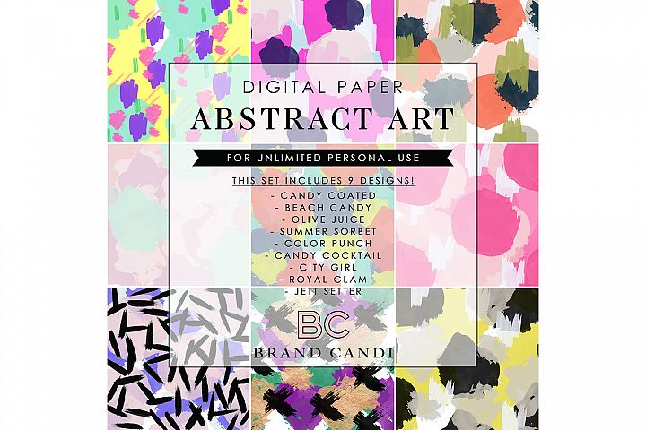 Abstract Art Pattern Bundle