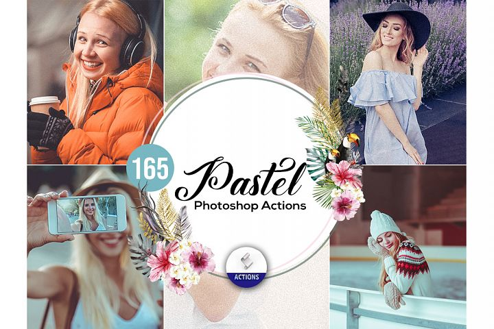 165 Pastel Photoshop Actions