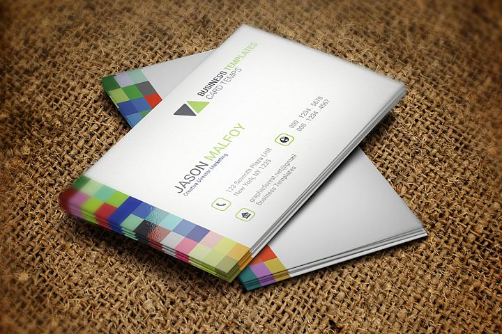 Minimal Web Business Card