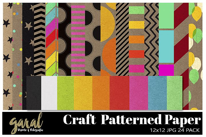 Craft Patterned Paper Pack