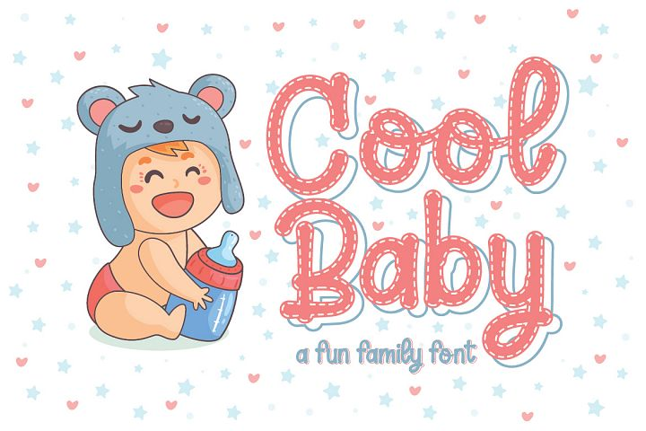 Cool Baby - A Fun Family Font