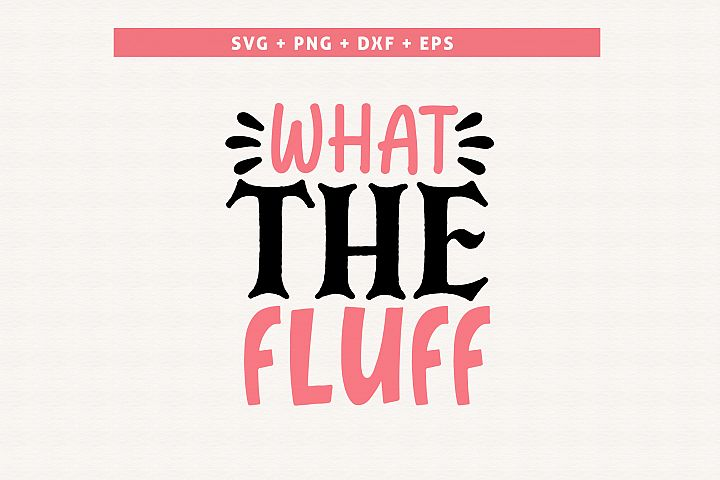 What the fluff| Sassy SVG