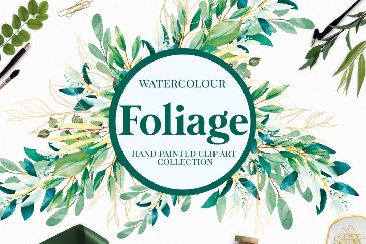 Foliage - Watercolour Leafs