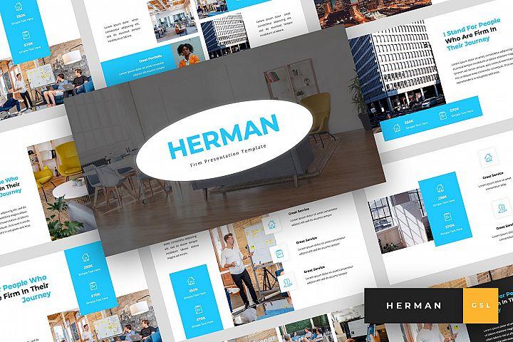 Herman - Firm Google Slides Template