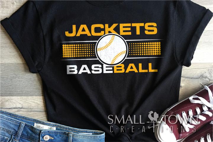 Jackets, Baseball, Sports, Design, Logo, PRINT, CUT, DESIGN