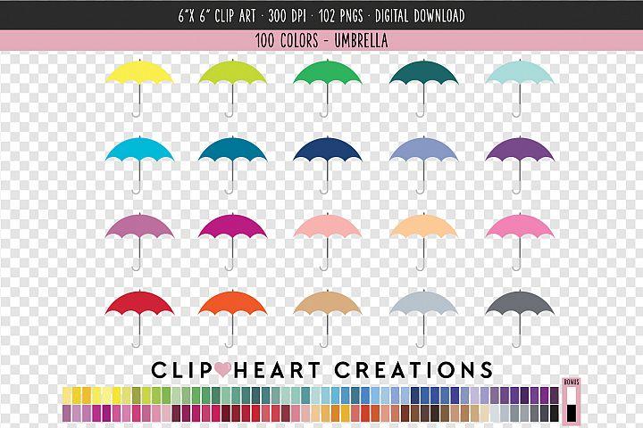 Umbrella Clip Art - 100 Clip Art Graphics