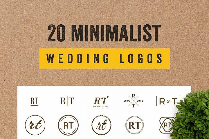 20 Elegant Minimalist Logo Bundles Vol.2