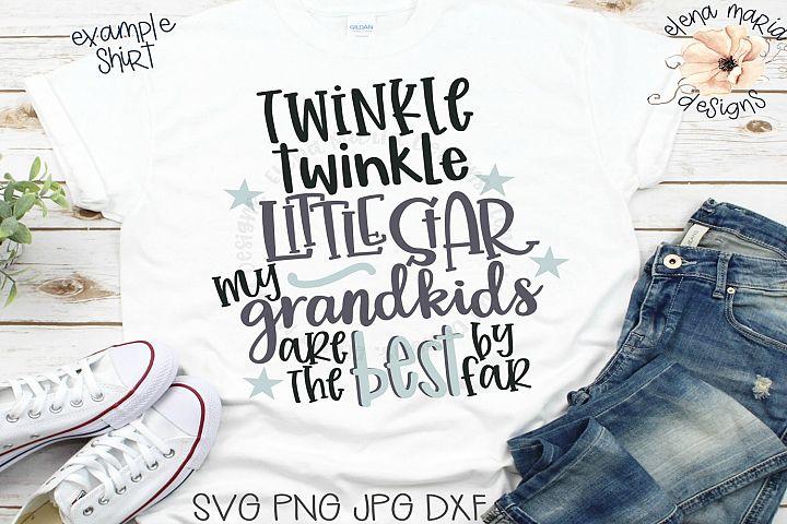 Twinkle Twinkle Little Star Svg File
