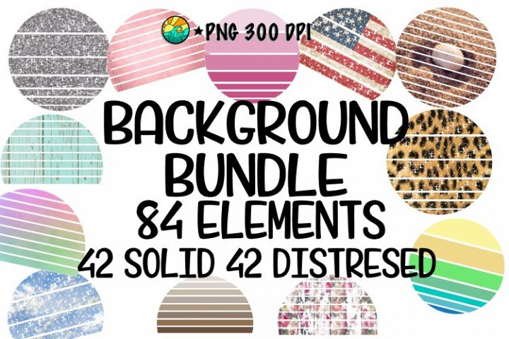 Background Bundle for SUBLIMATION & PRINTING- 84 Elements