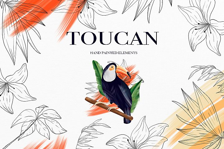 Toucan. Tropical collection