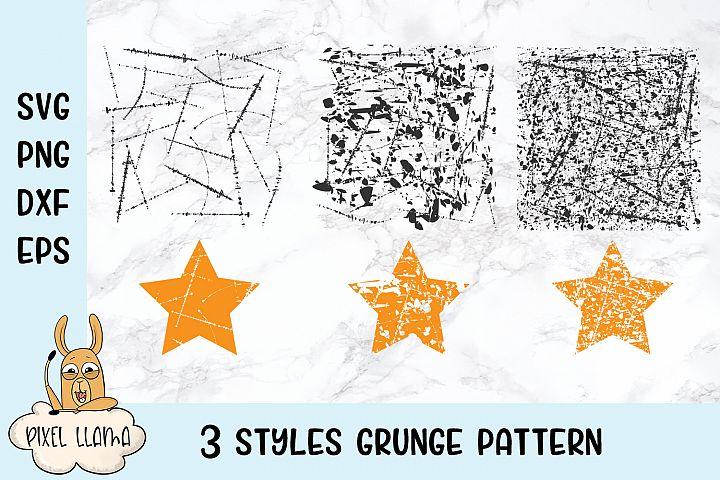 Grunge Pattern SVG Cut File