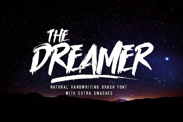 Dreamer Brush Font
