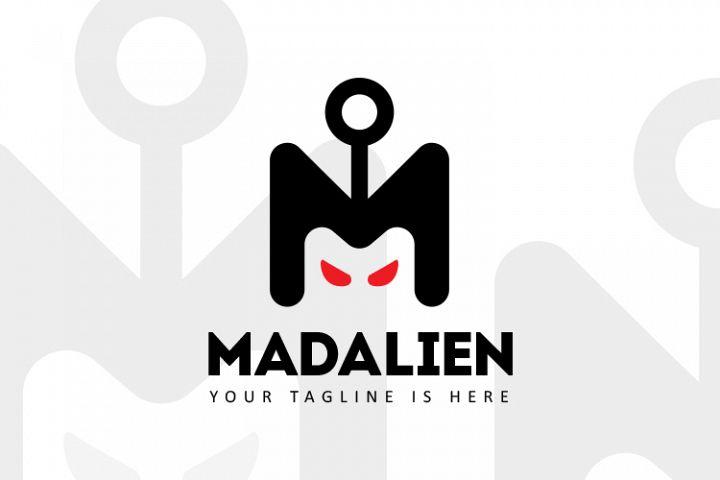 Mad Alien Logo Template