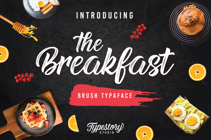 Breakfast - Free Font of The Week