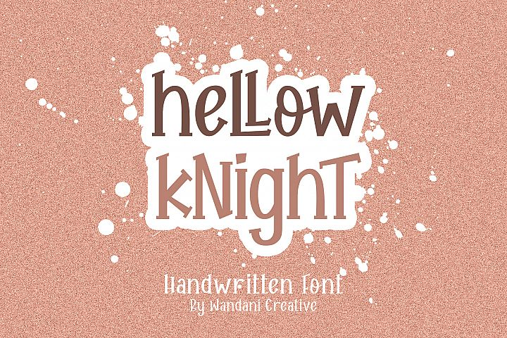 Hellow Knight // A Fun Handwritten Font
