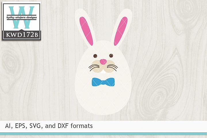 Easter SVG - Easter Bunny Egg