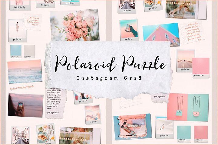 Polaroid Puzzle - Instagram