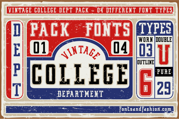 Vintage College Dept_Pack