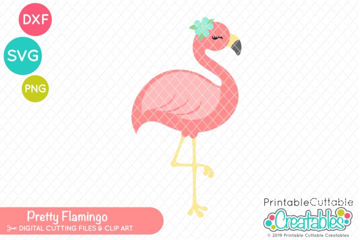 Pretty Flamingo SVG