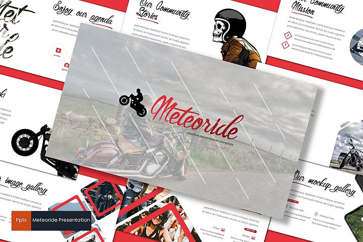 Meteoride - Powerpoint Template