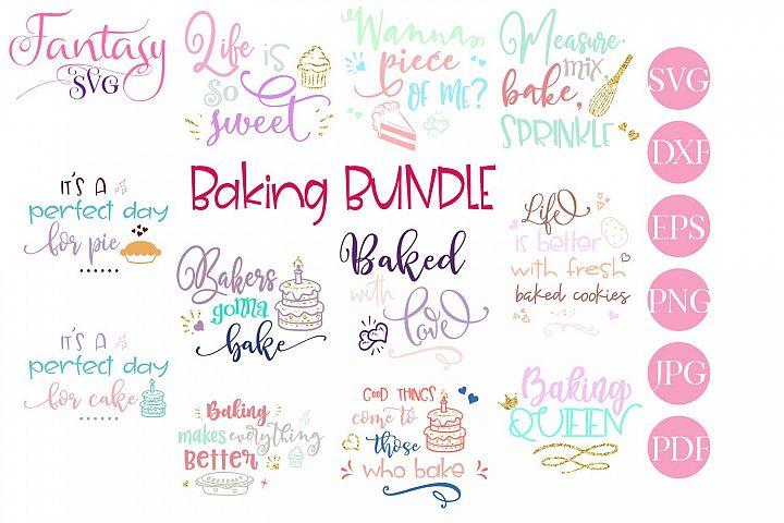 Baking BUNDLE - svg cut files