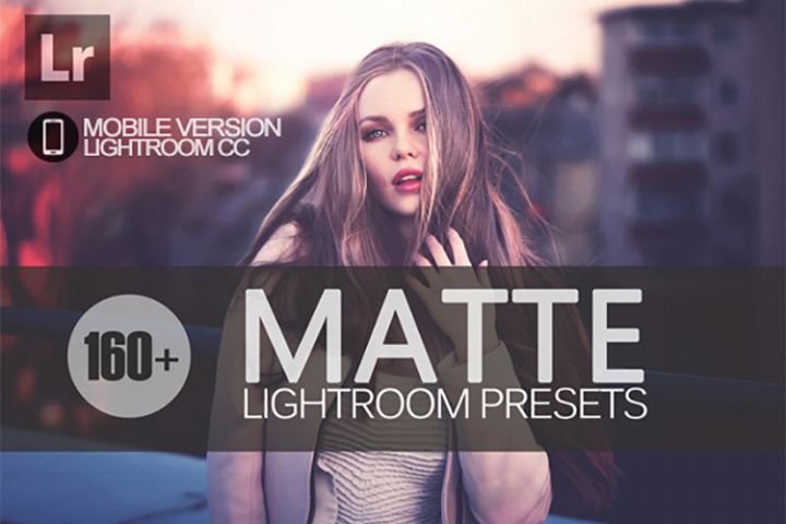 165 Matte Lightroom Mobile bundle Presets