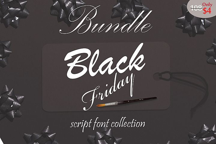 Black Friday FontBundle