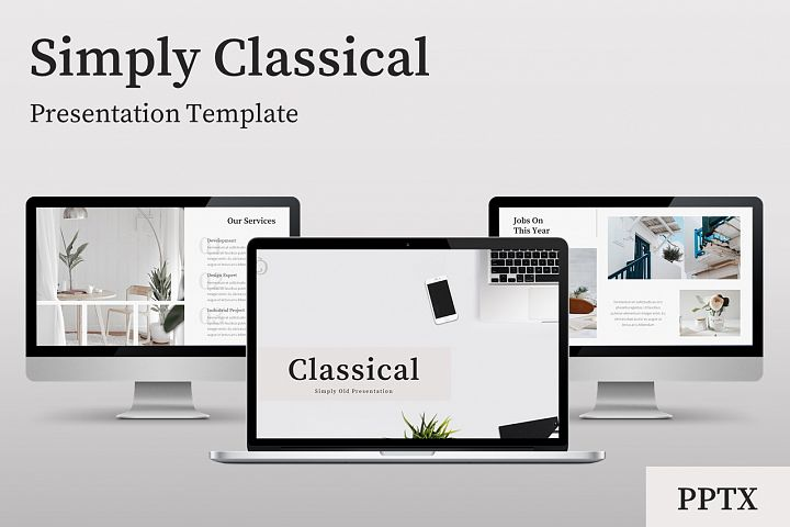 Classical - Creative Business Power Point Template