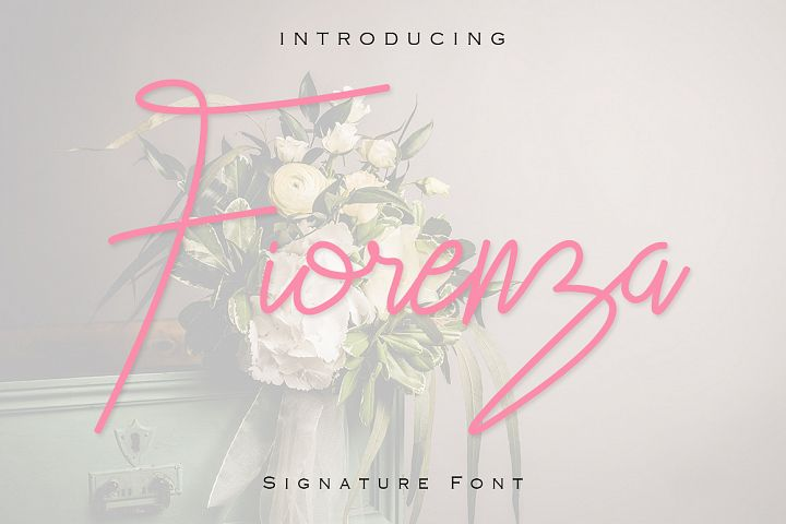 Fiorenza Signature Font