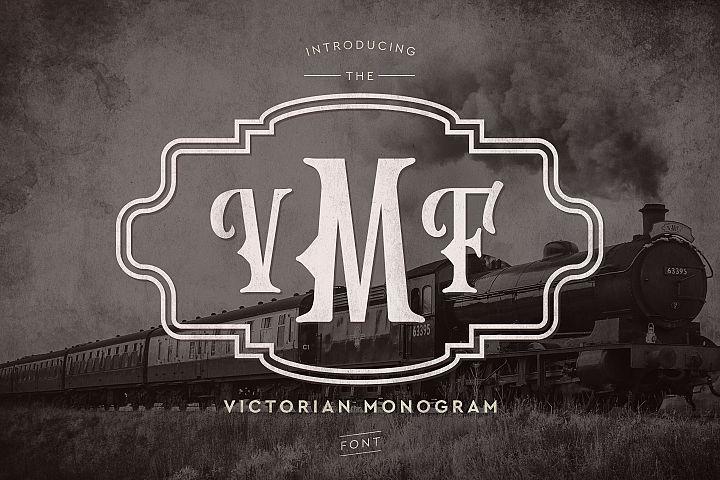 Victorian Monogram Font