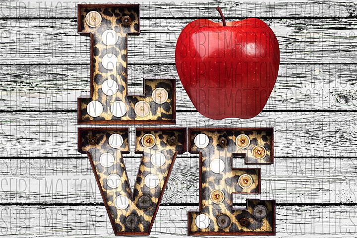 Teacher Love Sublimation Digital Download
