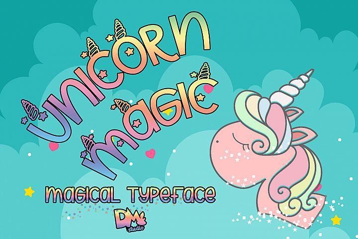 Unicorn Magic - Magical Typeface