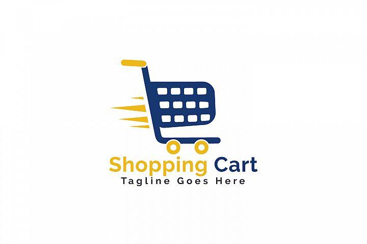 Shopping Cart Logo Design.
