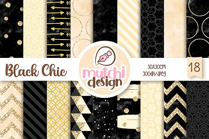 Black Chic Patterns