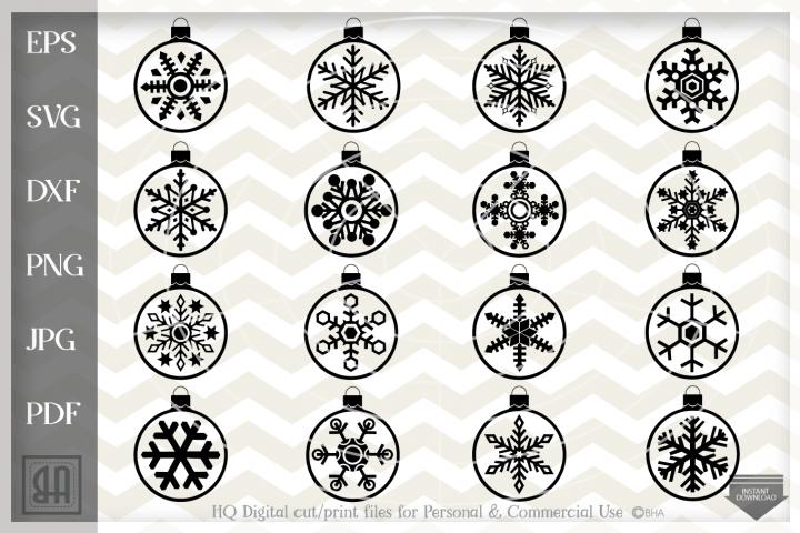 Christmas balls Svg - Christmas bulb svg - Christmas bundle