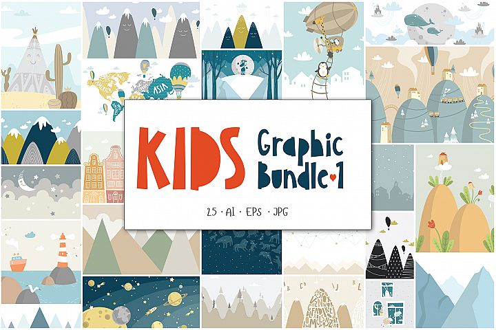 Kids Graphic Bundle - 1