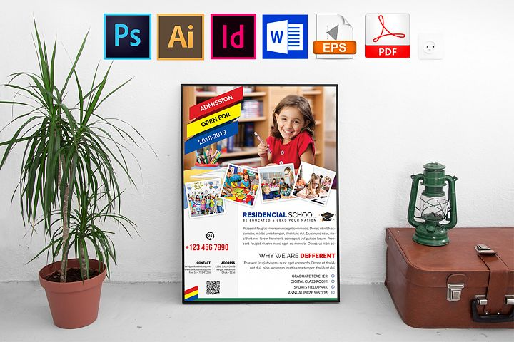 Poster | School Vol-01 example image 1