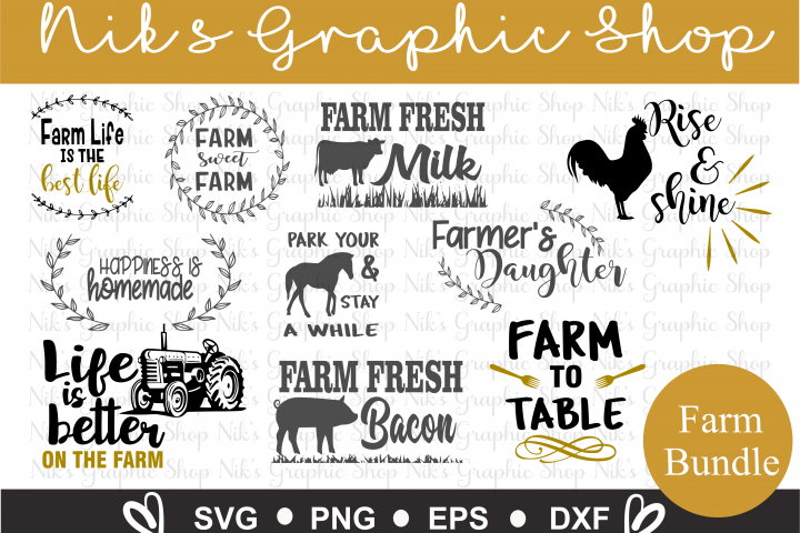 Farm Svgs, Farmers Svgs, Farmers Daughter Svg, Farm sweet