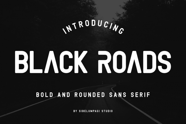 Black Roads example image 1