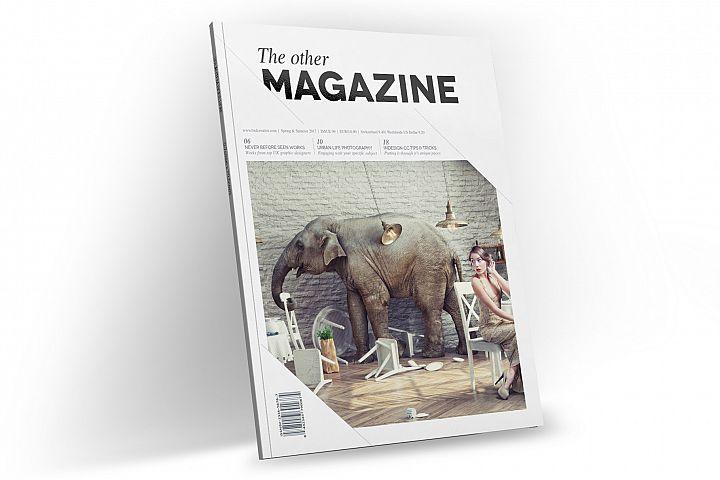 Magazine Template InDesign 11
