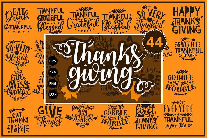 Thanksgiving quotes Mega Bundle