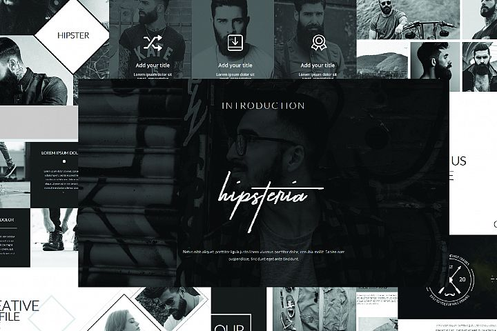 Hipsteria Business Powerpoint Template